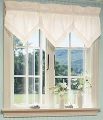 Valance For Kitchen Window No Sew Valance Tutorial Ll Possibly In The Kitchen For The