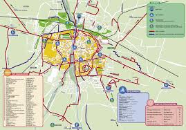 Parma Italy Map by Bicycle Routes In Parma