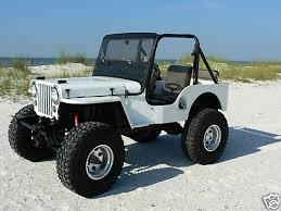 willys jeep lifted 1953 cj 3a orange beach al ebay ewillys