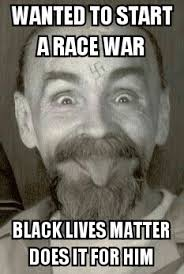 Charles Manson Meme - charles manson tried to start a race war in the 1960 s 50yrs later