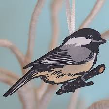 bird letterpress ornaments chandler o leary