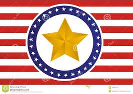 Star Flags Us Gold Star Flag Illustration Stock Vector Illustration 21999101