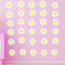 baby girl wall stickers daisy wall stickers