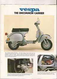 1979 vespa piaggio brochure u2014 kyle u0027s scooter shop
