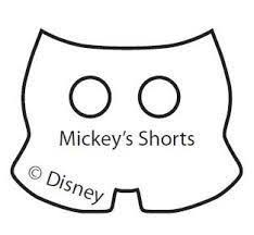 mickey mouse hands gloves templates disney