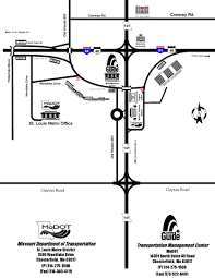 St Louis Metro Map by Directions
