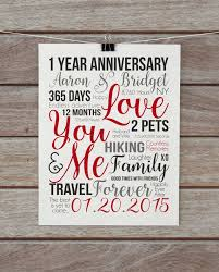 1 year anniversary gifts for husband the 25 best year anniversary ideas on