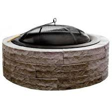 Ohio State Fire Pit by Wood Fire Pits Outdoor Heating The Home Depot