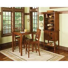 Arts And Crafts Dining Room Furniture by Home Styles Arts U0026 Crafts 3 Piece Pub Set Cottage Oak Walmart Com