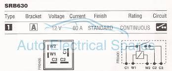 100 lucas relay wiring diagram 12v 2x15a normally open mini