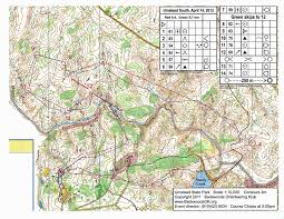 North Carolina State Parks Map by Orienteering In North Carolina