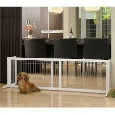 dog gates cat gate freestanding pet gate large richell usa
