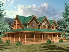 log homes with wrap around porches log home plans wrap around porch house design plans