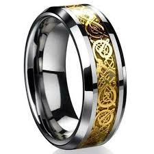 Mens Wedding Ring 2 by Aliexpress Com Buy Fashion Celtic Dragon Stainless Steel