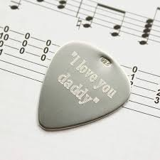 personalised sound wave sterling silver pick by newton and the