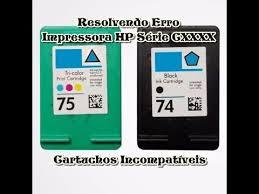 Fabuloso Cartuchos incompatíveis Nas Impressoras Hp Série C4440, C4480  &NS42