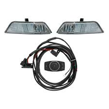 led fog light kit shelby performance parts mustang led fog light marker light kit