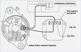 alternator regulator wiring diagram anonymer info