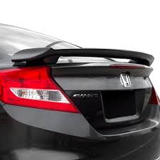 honda civic rear honda civic coupe 2012 2015 custom style rear spoiler