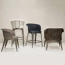 Palecek Chairs Palecek Navy Dining Arm Chair