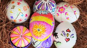 diy gel pen easter eggs and other egg decorating ideas youtube