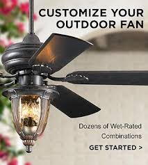 outdoor ceiling fans damp and wet rated fan designs lamps plus