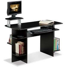 desk with shelves on side desk with bookcase side bg1003 afw