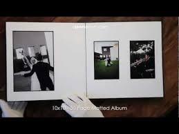 10x10 wedding album 10x10 50 page matted leather craftsmen wedding album 2