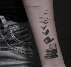 40 amazing book tattoos for literary lovers tattooblend
