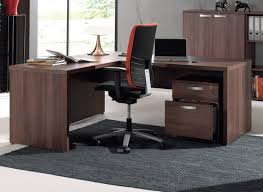 matelpro bureau bureau d angle contemporain coloris noyer rosana soldes bureau