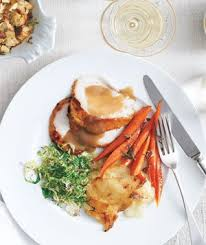 thanksgiving dinner menu real simple