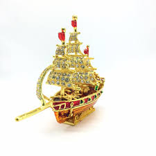 Nautical Home Decorations Red With Gold Color Sailboat Nautical Home Decor U2013 Roseland Dp