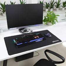 desk size mouse pad kkmoon super large size mouse pad natural rubber material waterproof