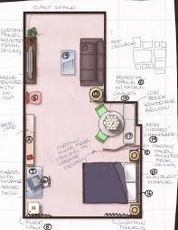 Efficiency Apartment Layout - Studio apartment layout design