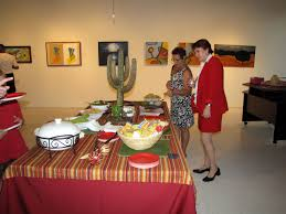 Mexican Dining Room Furniture Food Table With Mexican Theme Charlotte Art League Blog