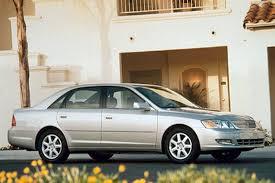 2001 Toyota Avalon Interior 2000 04 Toyota Avalon Consumer Guide Auto