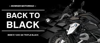bmw gs 1200 black the name says it all black