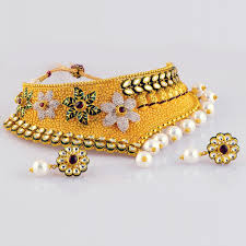 gold har set gold chokan har set chhrs 0042 gold necklace jewellery