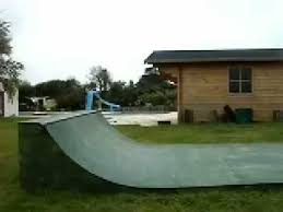 Backyard Skateboard Ramps Back Yard Skate Ramp Youtube