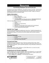 The Best Resume Format by Free Resume Templates 87 Amusing Outline Examples Template And
