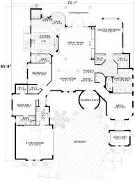 mediterranean style house plan 3 beds 3 50 baths 3446 sq ft plan
