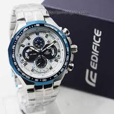 Jam Tangan Casio Chrono jam tangan edifice ef 554 silver biru jual jam tangan edifice