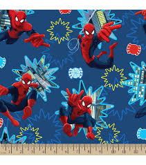 licensed cotton fabric spiderman photo burst joann
