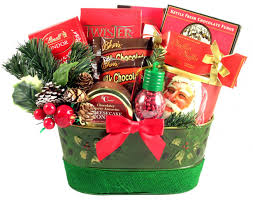 Christmas Gift Basket A Holiday Surprise Christmas Gift Basket By Gift Basket Village