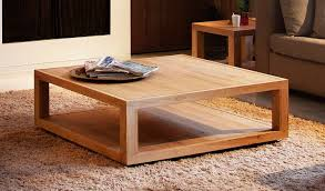 wood square coffee table rustic cota dynasty tempered glass topped