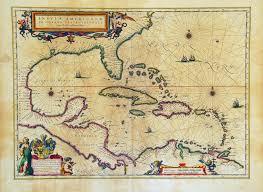 Map Of Amsterdam Insulae Americanae In Oceano Septentrionali Terris