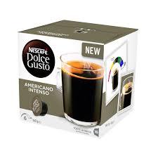 americano americano coffee pods nescafé dolce gusto