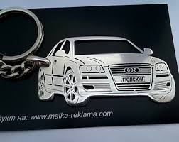 audi a3 keyring keychain for audi a3 etsy