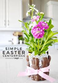 easter centerpiece easy easter centerpiece tutorial somewhatsimple
