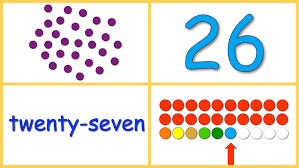 baby math numbers 20 30 dots numerals words rows youtube